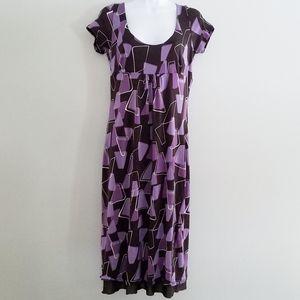 MaxMara Sz 46/Large Women's Midi Dress